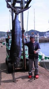 クロカワカジキ 96キロ